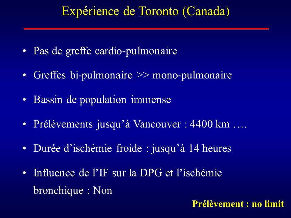 Expérience de Toronto (Canada)