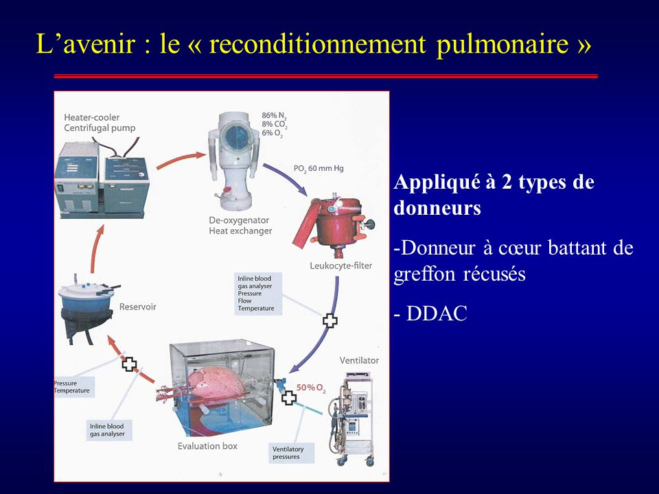 L'avenir : le « reconditionnement pulmonaire »