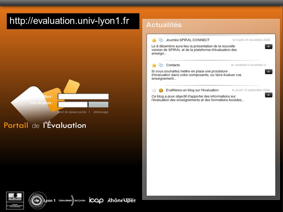 Emmanuel Sylvestre Université Claude Bernard Lyon1