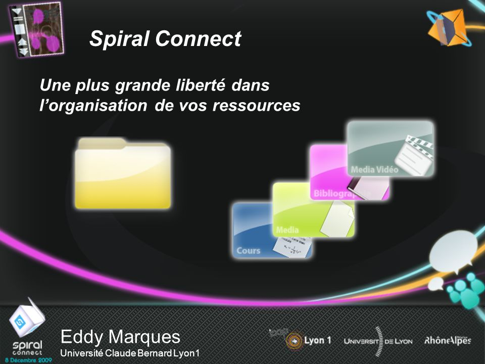 Eddy Marques Université Claude Bernard Lyon1