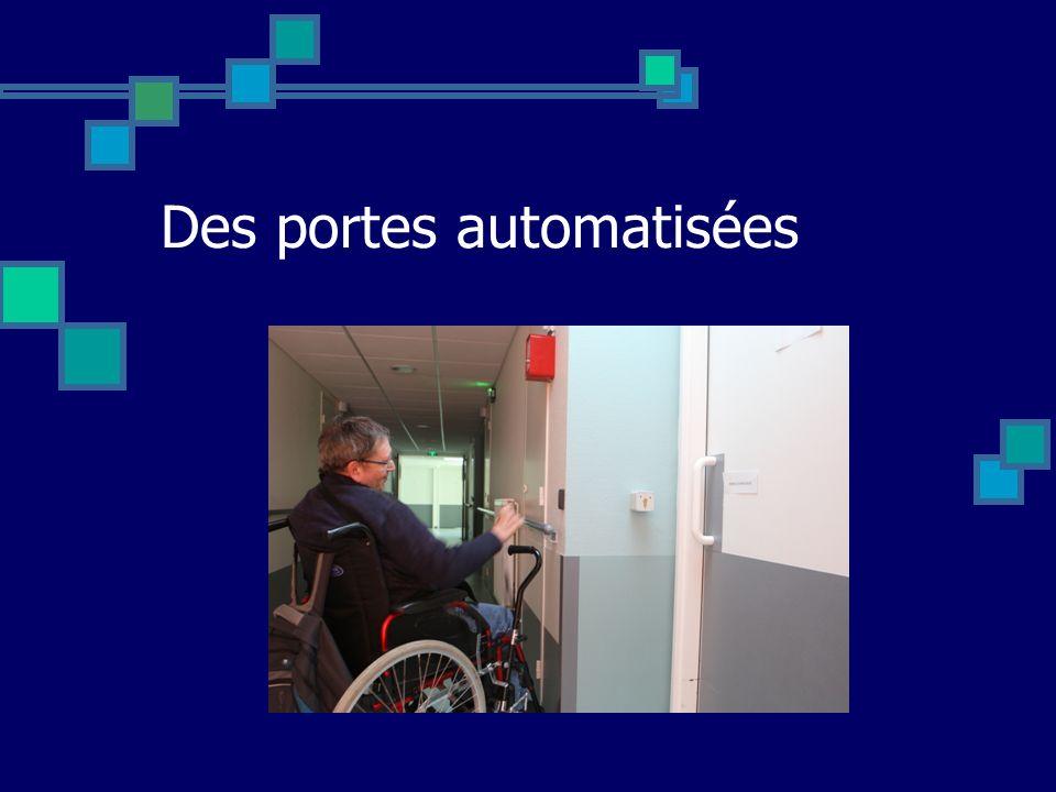 Des portes automatisées