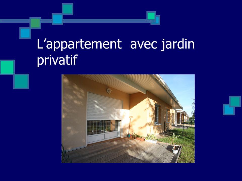 L'appartement avec jardin privatif