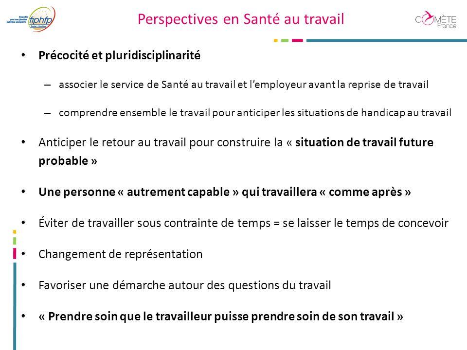 Perspectives en Santé au travail