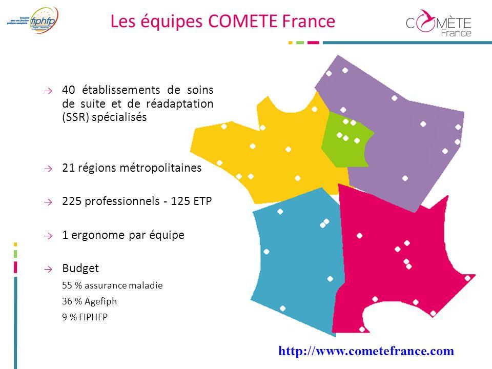 Les équipes COMETE France