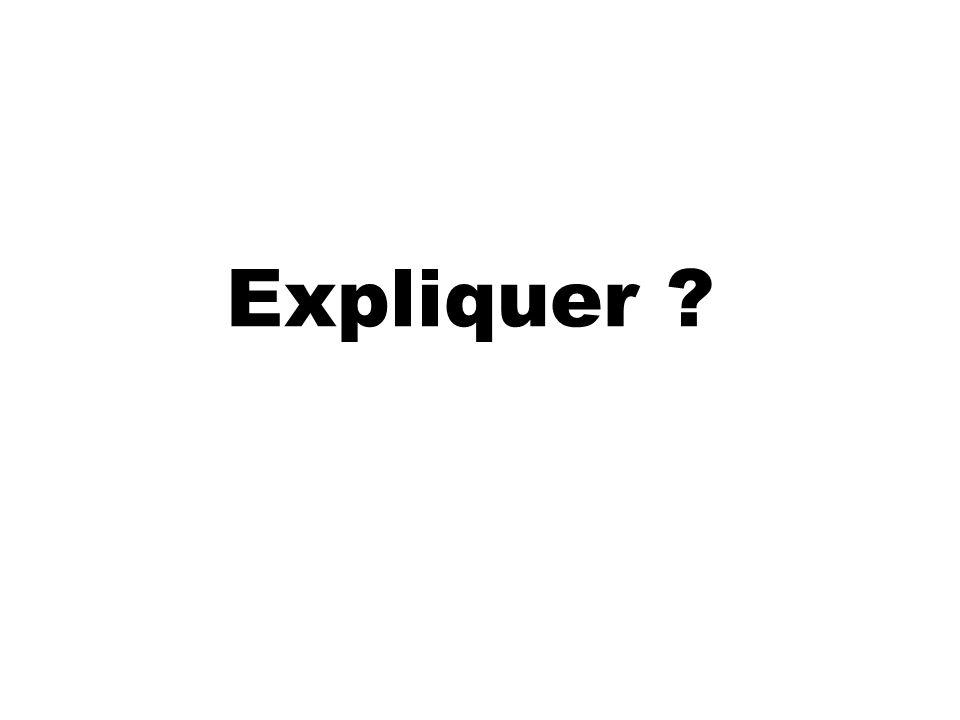 Expliquer