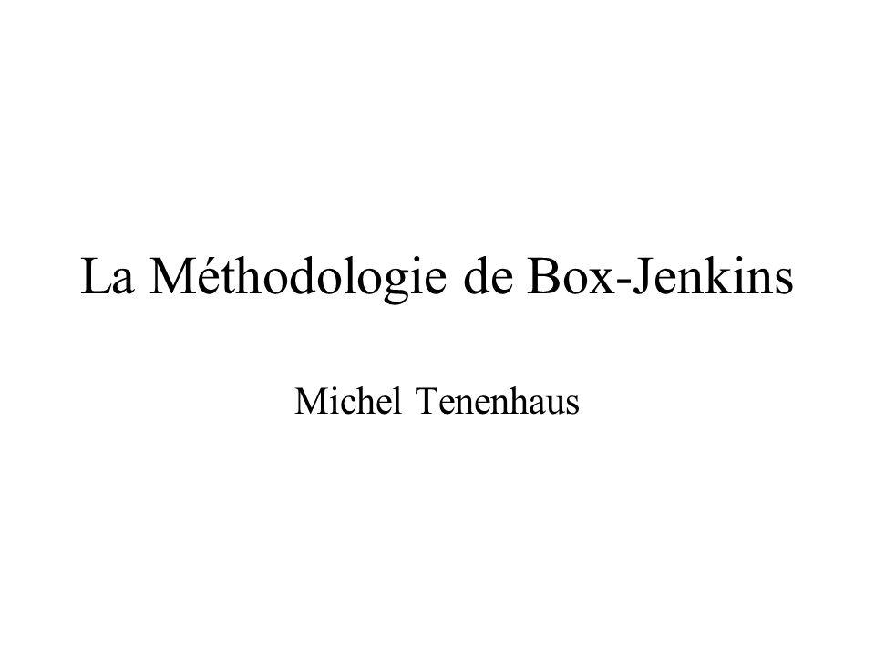 La Méthodologie de Box-Jenkins