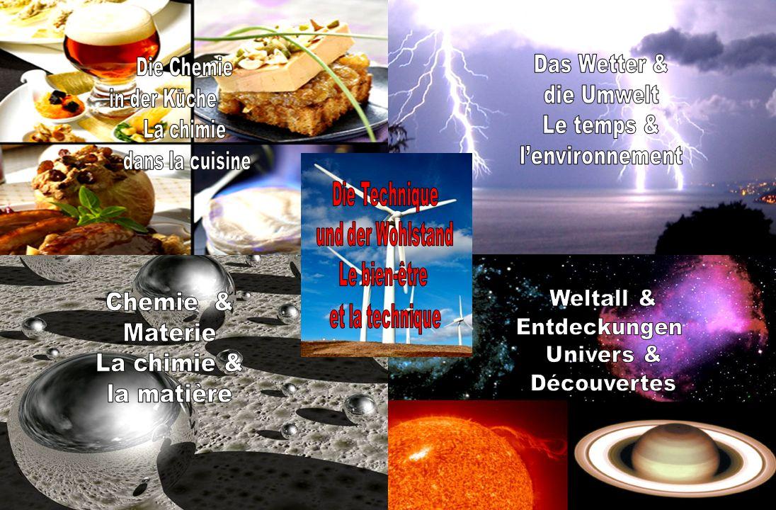 Das Wetter & Die Chemie die Umwelt in der Küche Le temps & La chimie