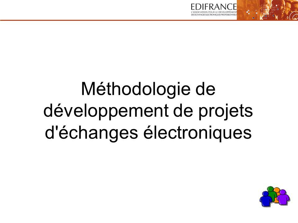 Méthodologie de développement de projets d échanges électroniques