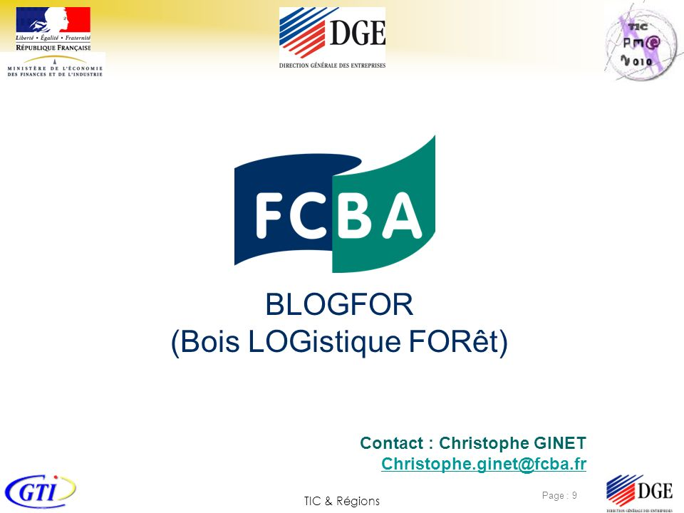 BLOGFOR (Bois LOGistique FORêt)