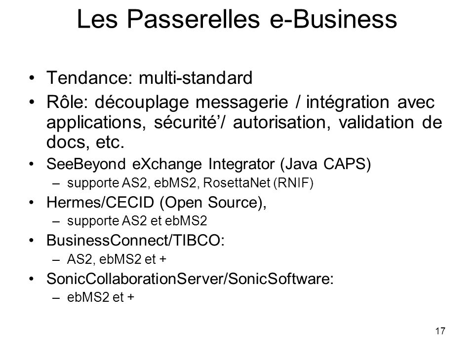 Les Passerelles e-Business