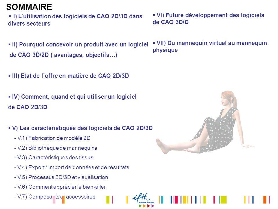 SOMMAIRE I) L'utilisation des logiciels de CAO 2D/3D dans divers secteurs. II) Pourquoi concevoir un produit avec un logiciel.