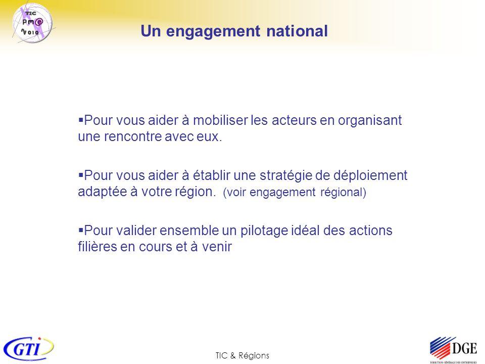 Un engagement national