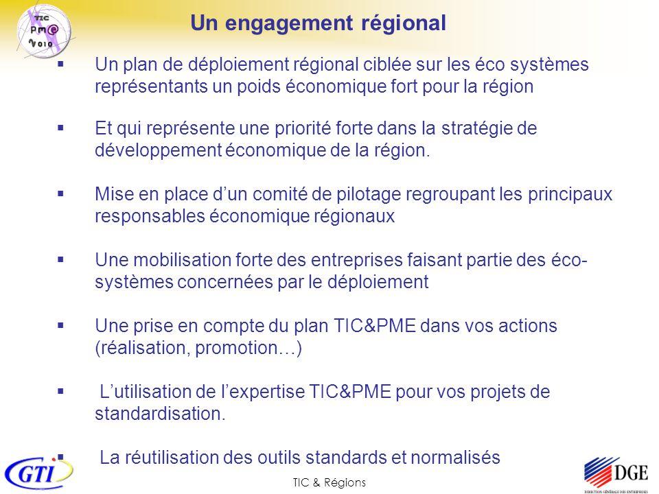 Un engagement régional