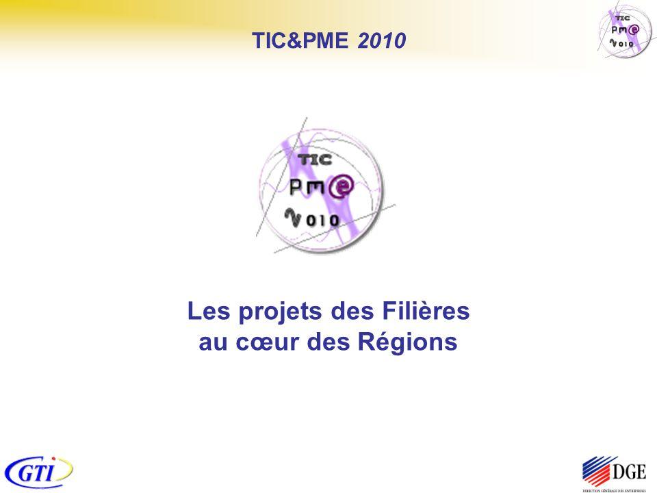 Les projets des Filières au cœur des Régions
