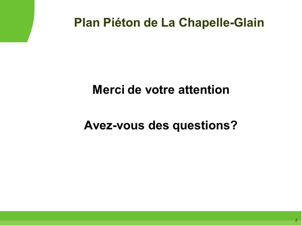 Plan Piéton de La Chapelle-Glain