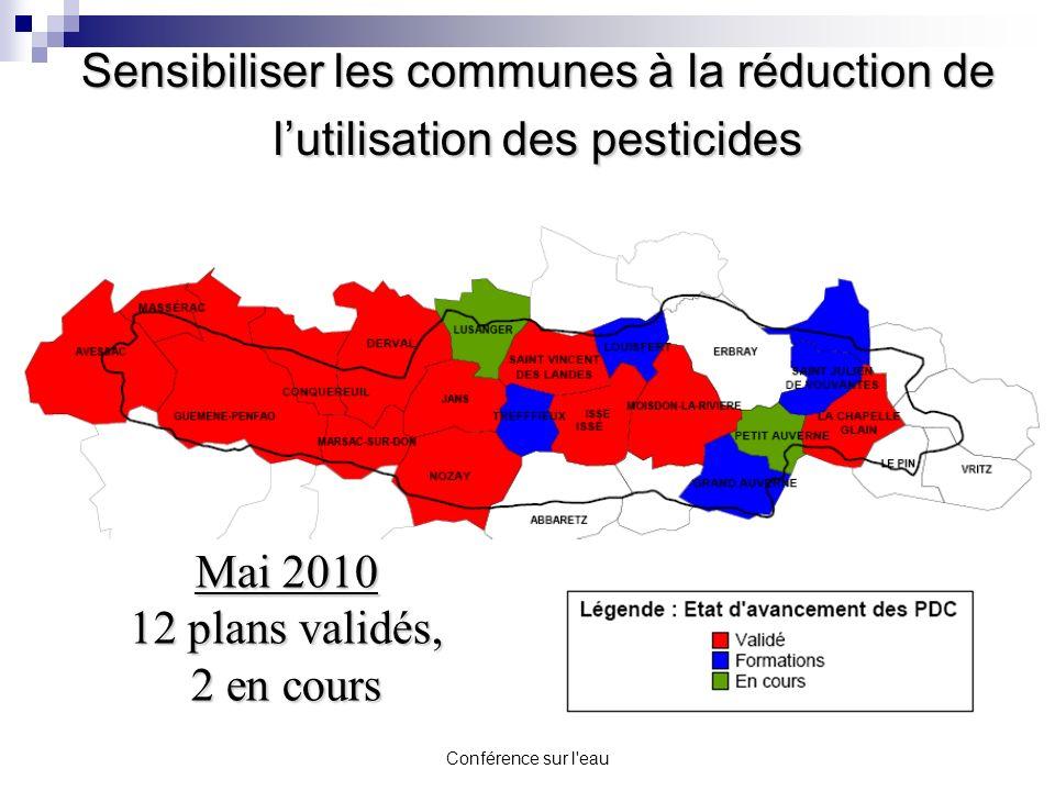 Sensibiliser les communes à la réduction de l'utilisation des pesticides