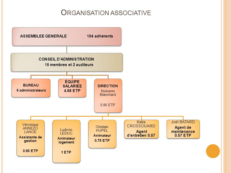 Organisation associative