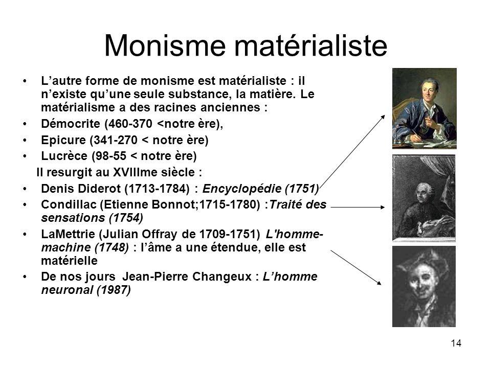 Monisme matérialiste