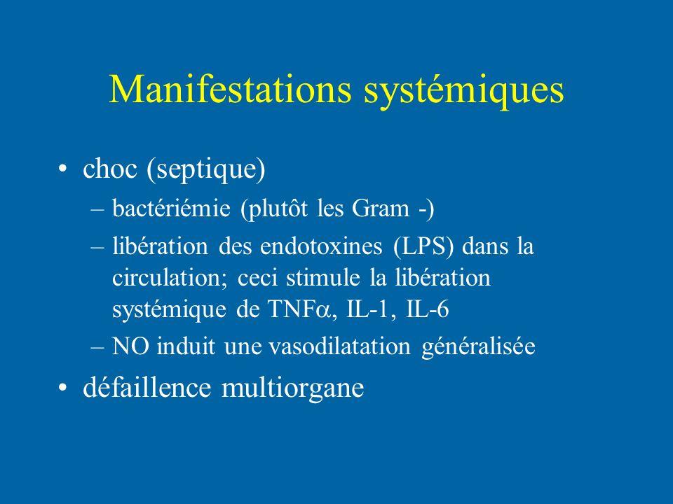 Manifestations systémiques