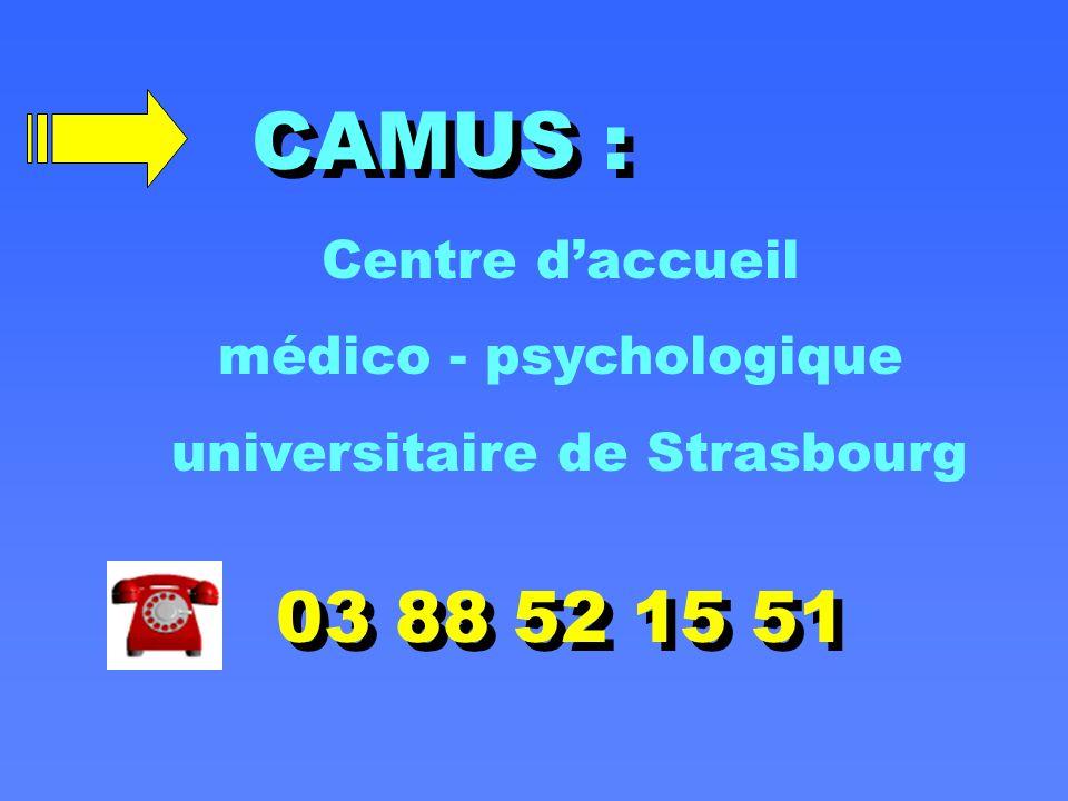 médico - psychologique universitaire de Strasbourg