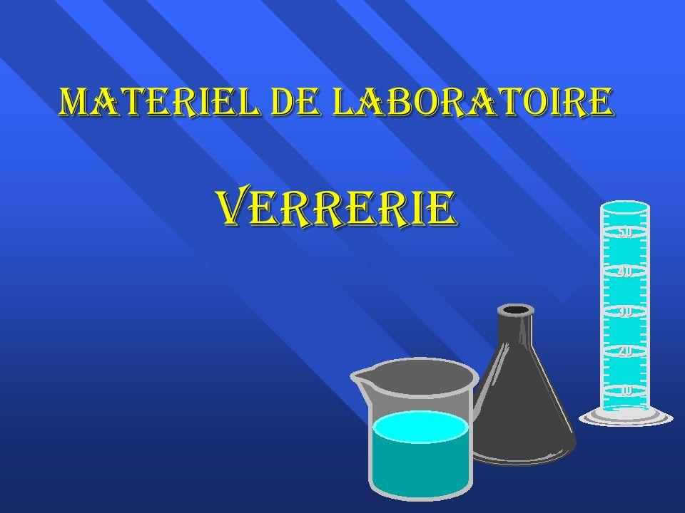 Materiel de laboratoire Verrerie