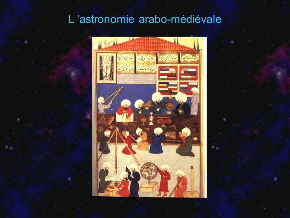 L 'astronomie arabo-médiévale
