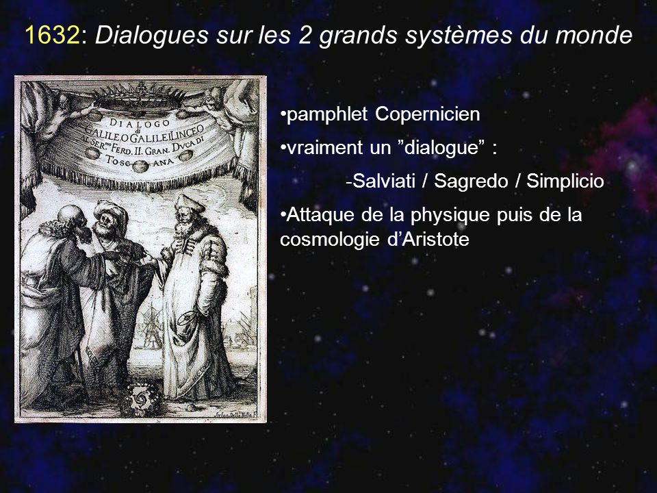 1632: Dialogues sur les 2 grands systèmes du monde