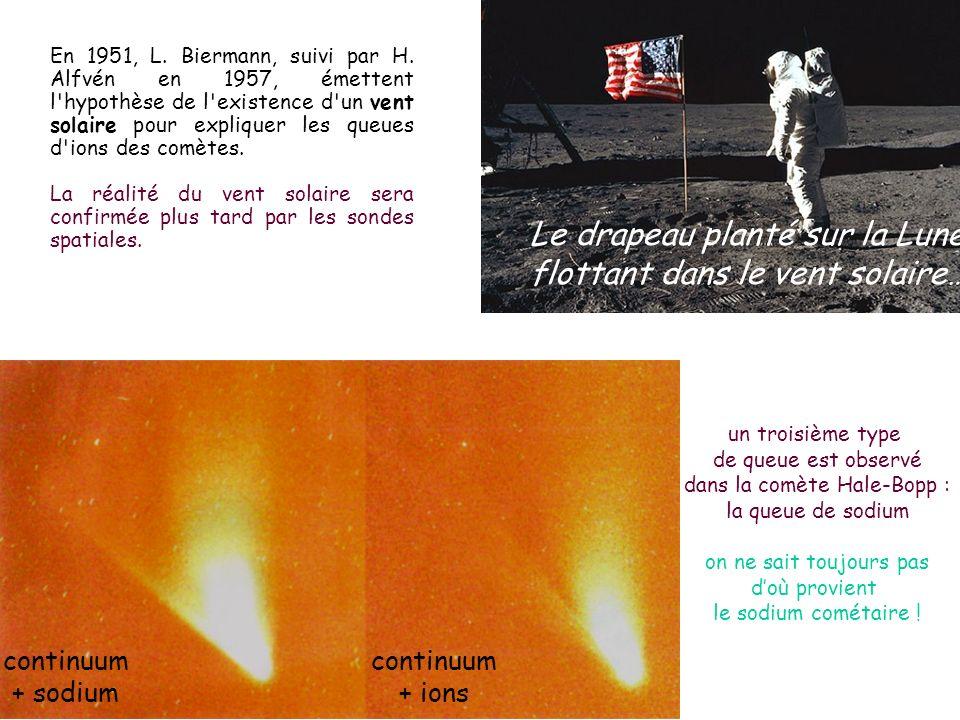 dans la comète Hale-Bopp :