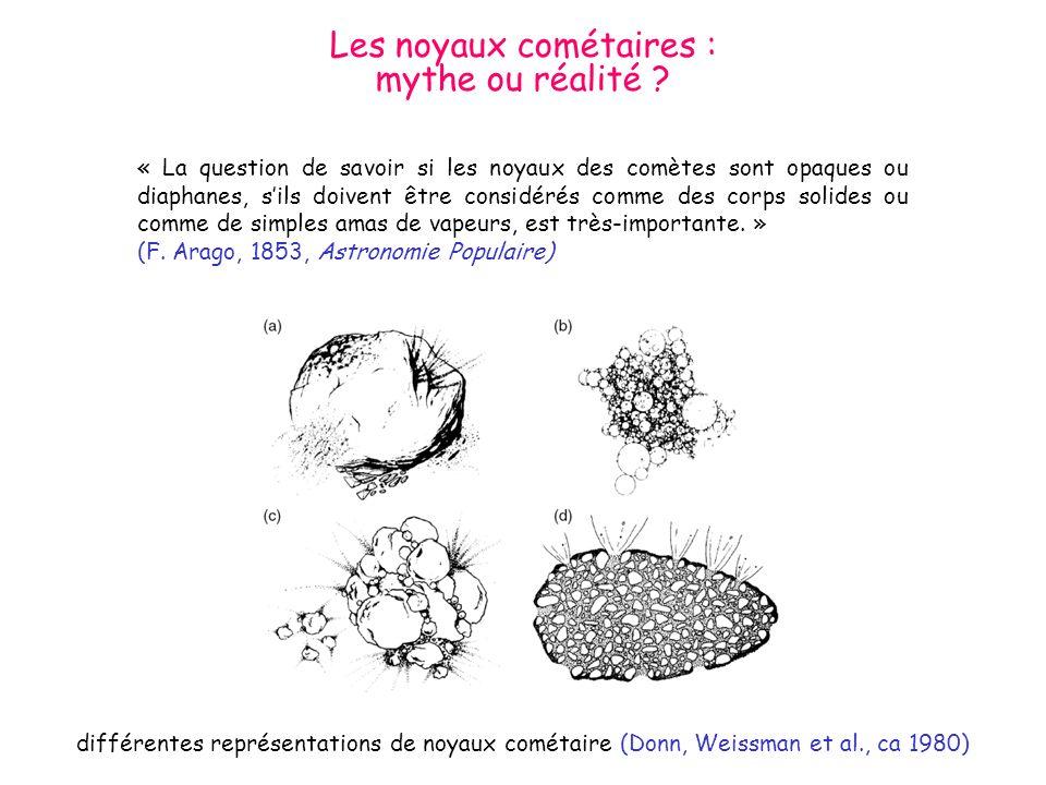 Les noyaux cométaires :