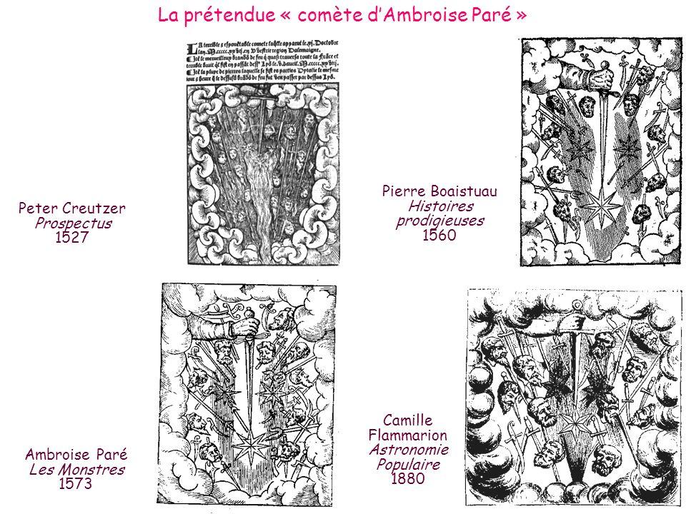 La prétendue « comète d'Ambroise Paré »