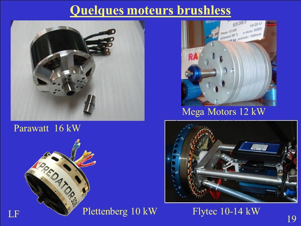 Quelques moteurs brushless