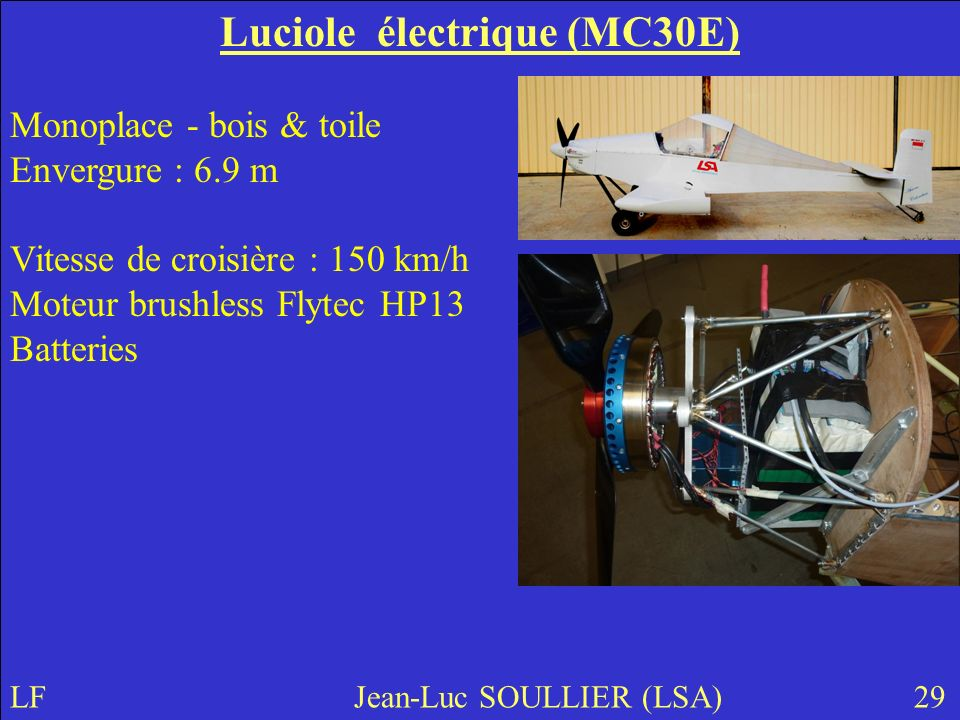 Luciole électrique (MC30E)