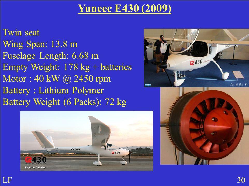 Yuneec E430 (2009) Twin seat.
