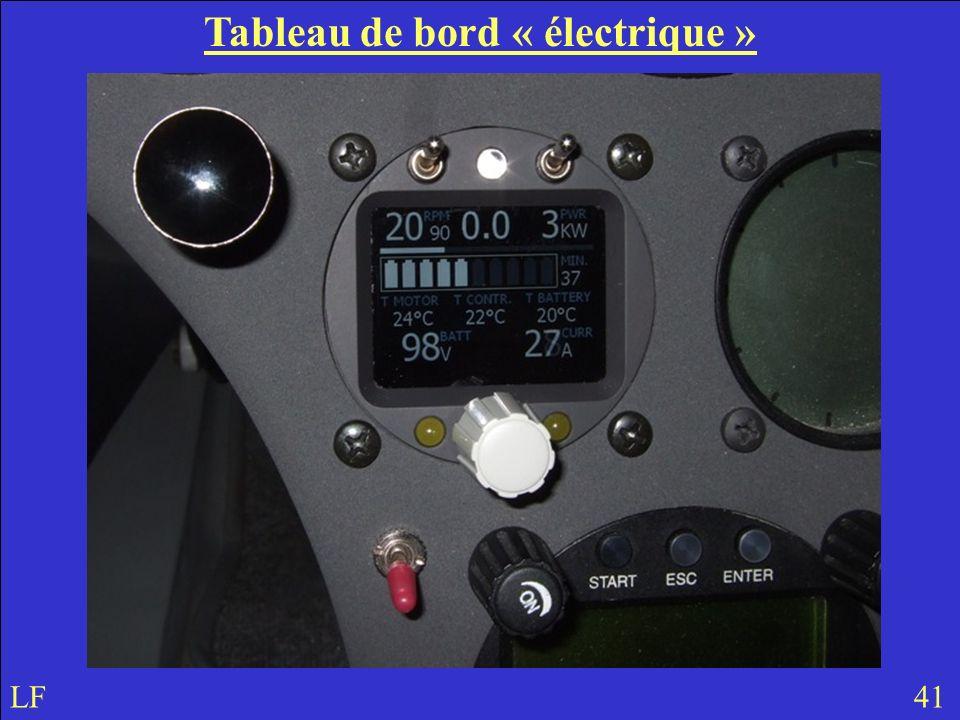 Tableau de bord « électrique »