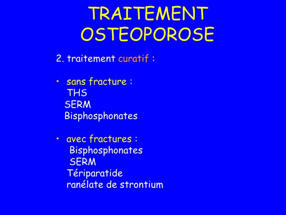 TRAITEMENT OSTEOPOROSE