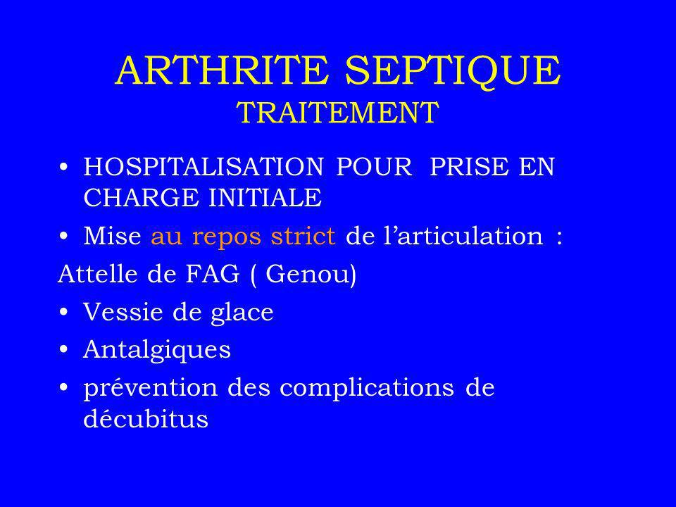 ARTHRITES SEPTIQUES = INFECTIEUSES - ppt video online