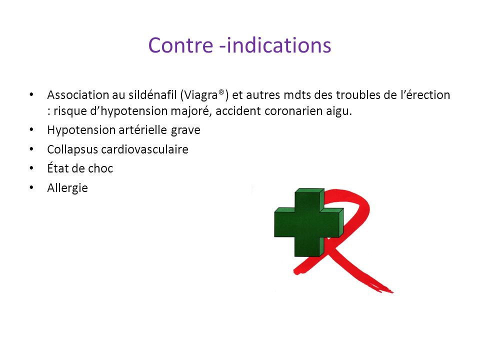 Contre -indications