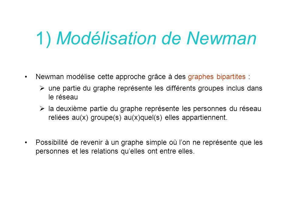 1) Modélisation de Newman
