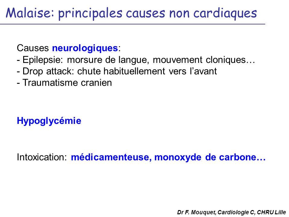 Malaise: principales causes non cardiaques