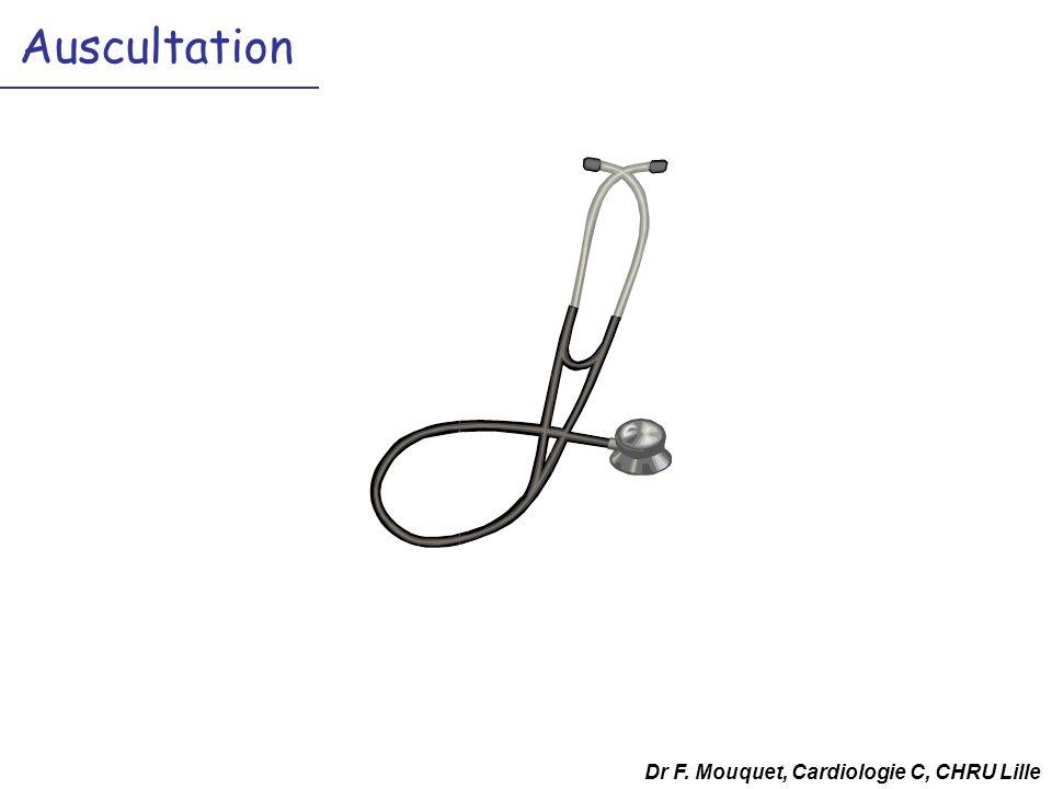 Auscultation Dr F. Mouquet, Cardiologie C, CHRU Lille