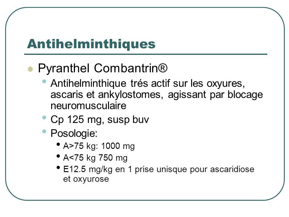 Antihelminthiques Pyranthel Combantrin®