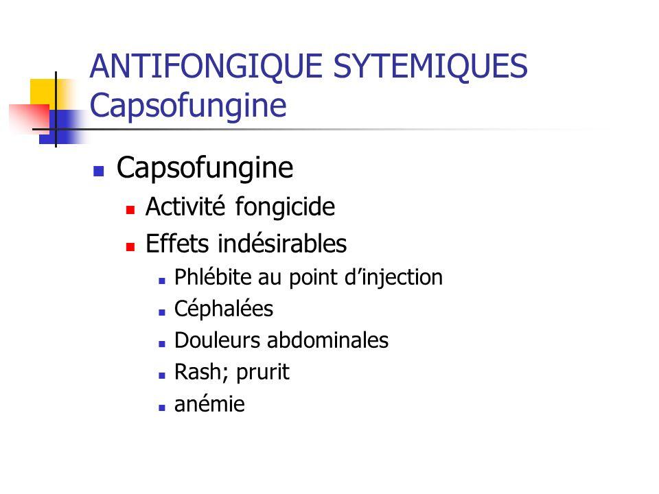 ANTIFONGIQUE SYTEMIQUES Capsofungine