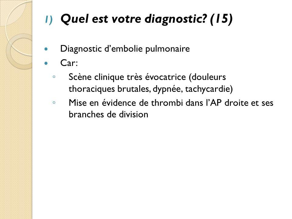 Quel est votre diagnostic (15)