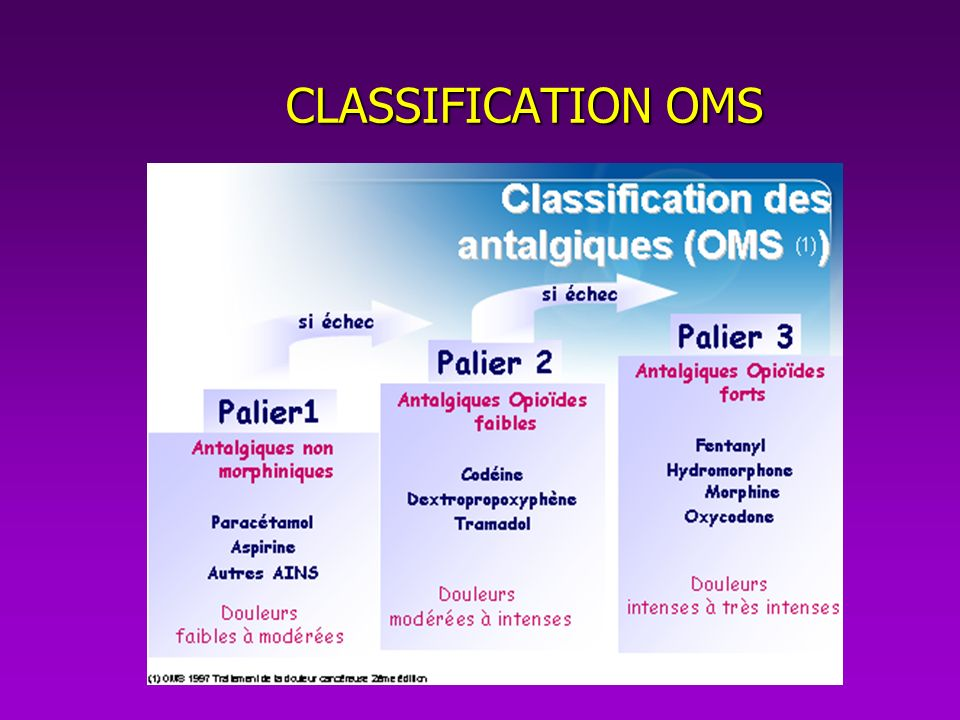 CLASSIFICATION OMS