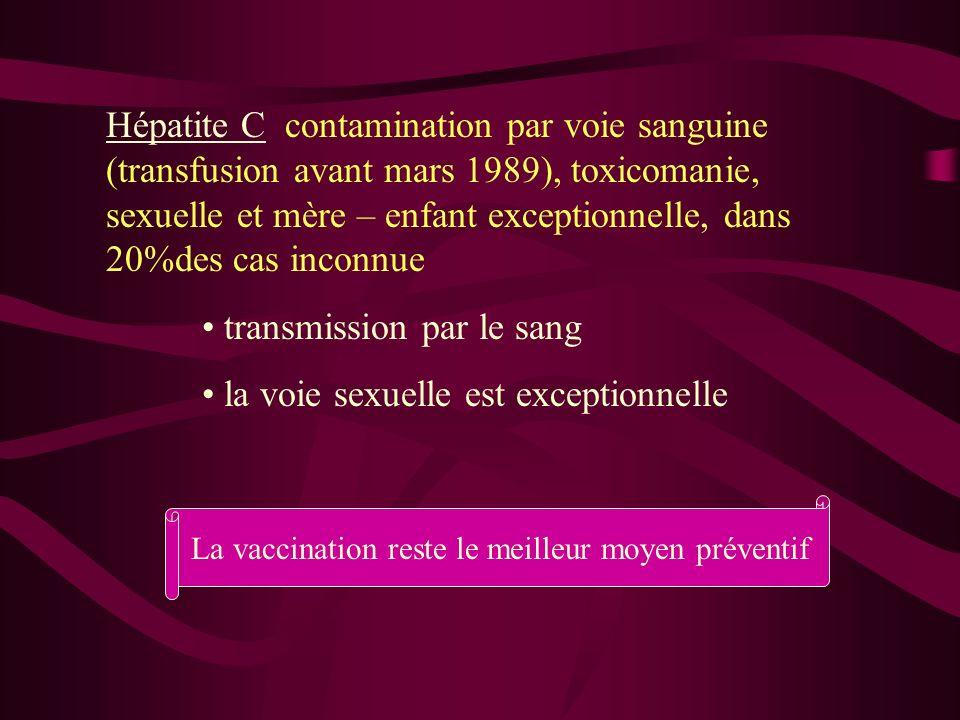 La vaccination reste le meilleur moyen préventif