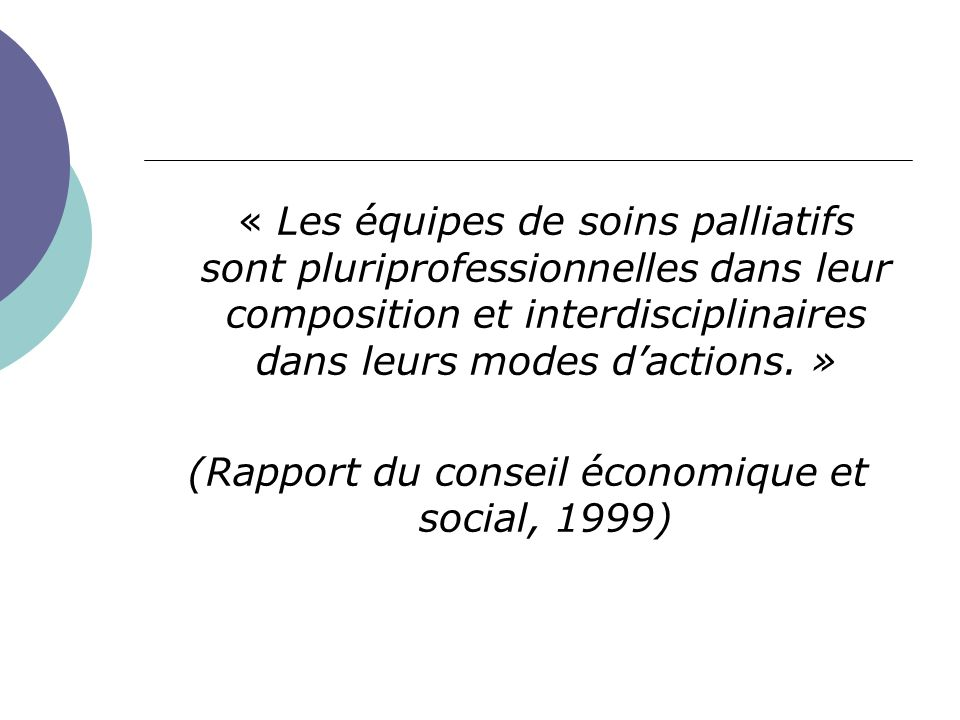 (Rapport du conseil économique et social, 1999)