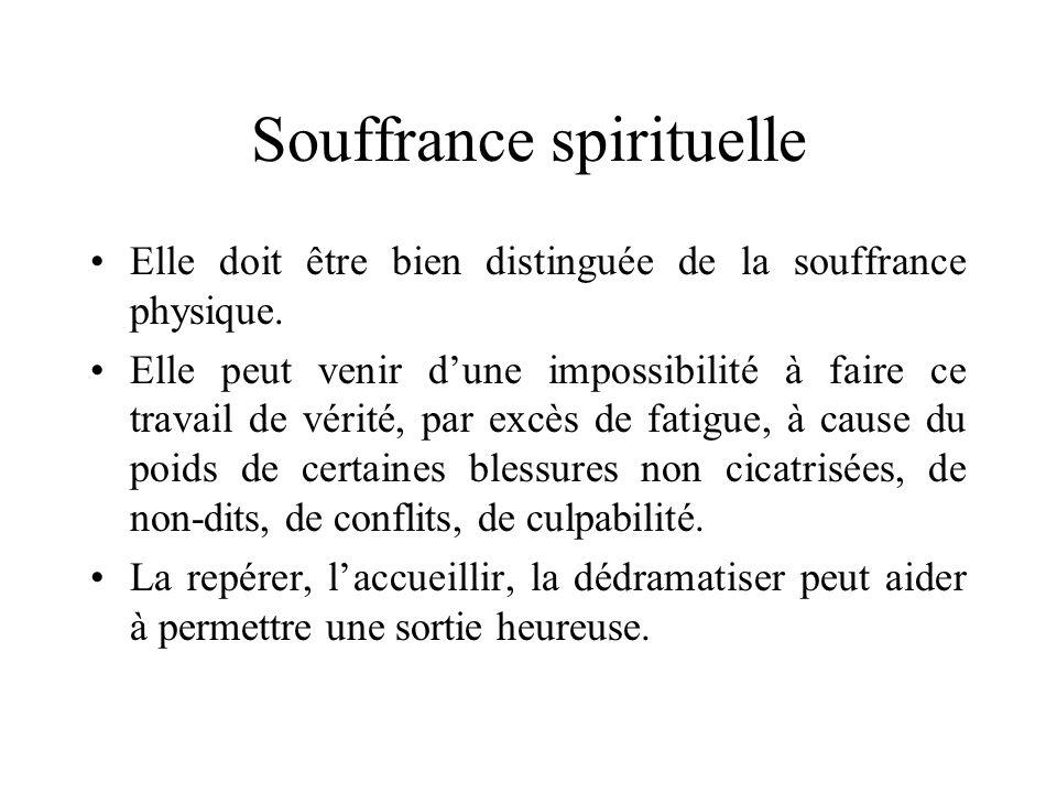 Souffrance spirituelle