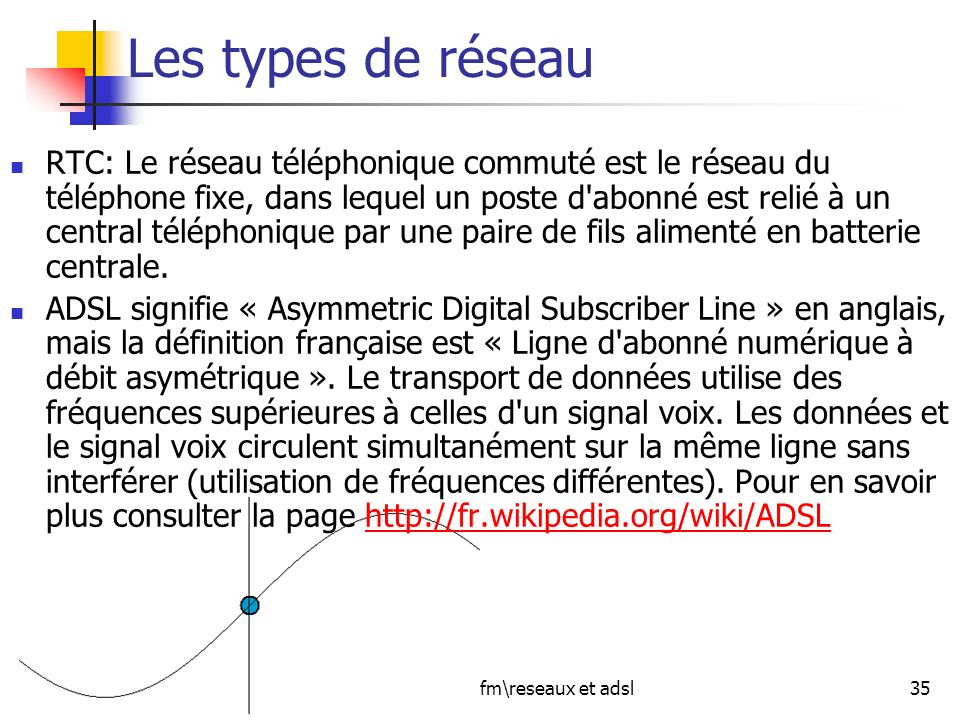Jcpafmreseaux et adsl ppt t l charger - Avoir internet sans ligne telephonique ...