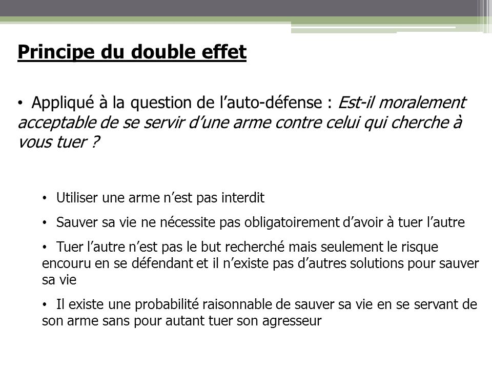 Principe du double effet