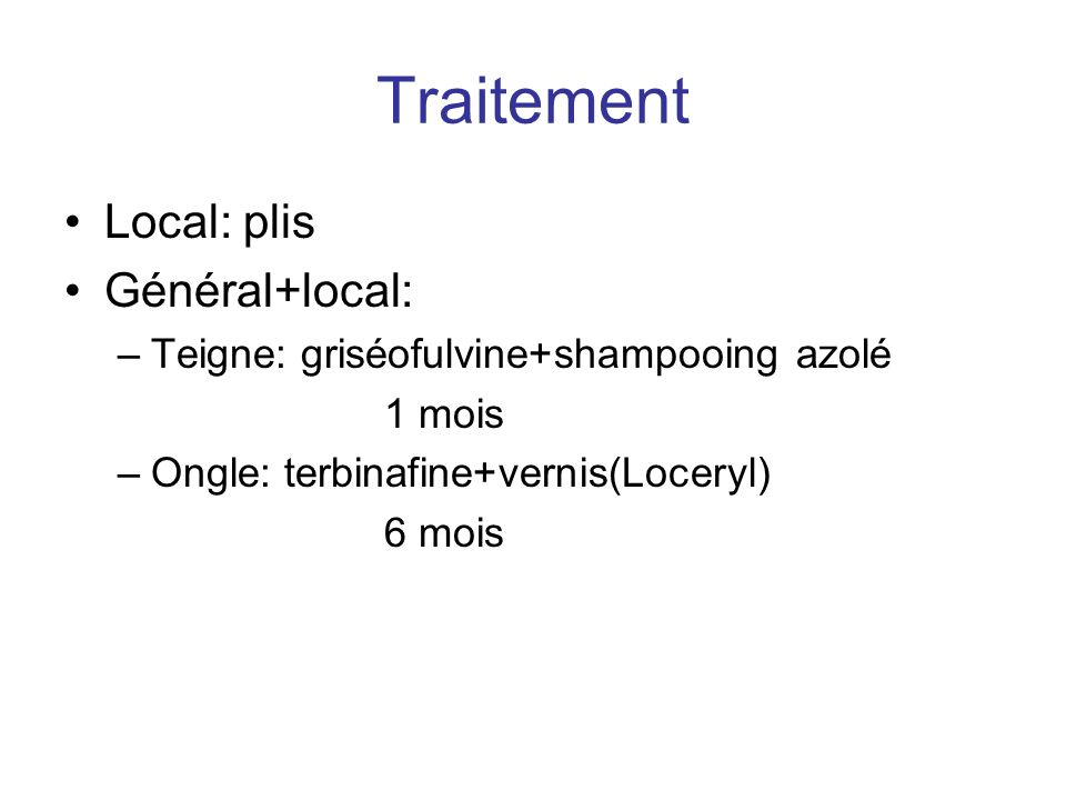 Traitement Local: plis Général+local: